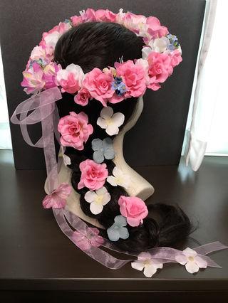 プランツェル花冠ピンク