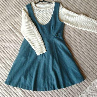 プーラフリーム秋冬ジャンパースカート