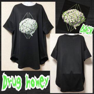 【新品/Drug honey】脳ミソプリントプルオーバー