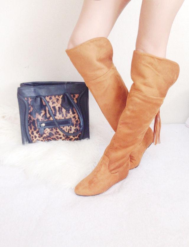 07【新品同様】importスウェードブーツ/靴(その他 ) - フリマアプリ&サイトShoppies[ショッピーズ]