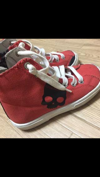 ハイドロゲン キッズ靴
