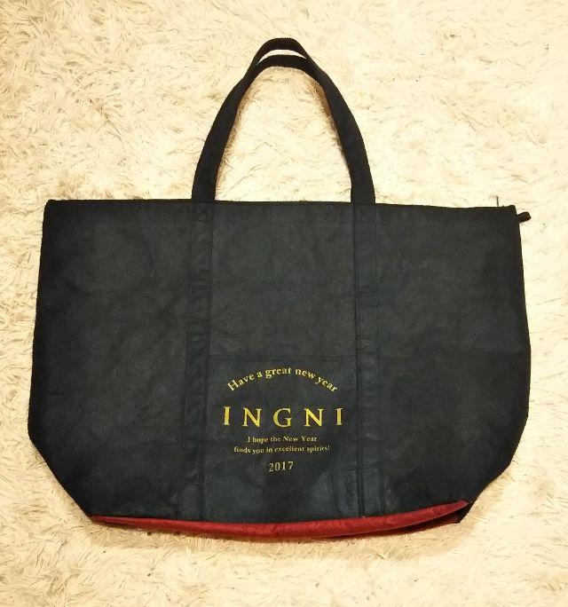 INGNI2017年福袋のバッグのみ