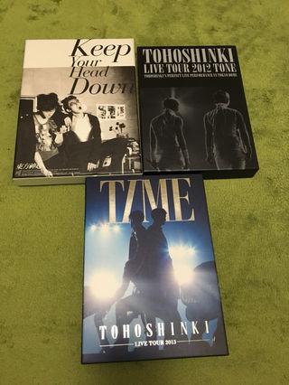 東方神起 DVDセット
