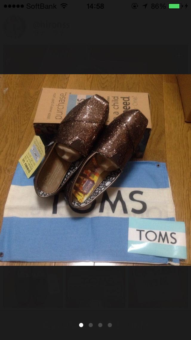 早いもの勝ち 新品タグ付き TOMS スリッポン (TOMS(トムス) ) - フリマアプリ&サイトShoppies[ショッピーズ]