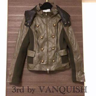 3rd by VANQUISH異素材切り替えジャケット