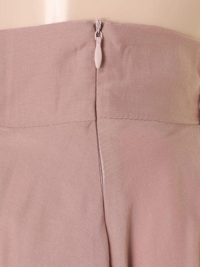 最新デイライルノアールラップデザインフレアロングスカート