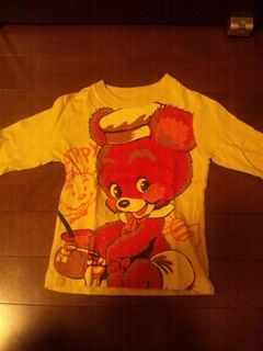 グラグラ長袖Tシャツ