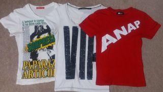 Tシャツ3枚setANAP,LIP,SHAKE SHAKE