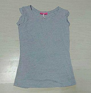 Bershkaネオン縫込みTシャツ