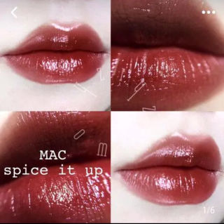 スパイスイットアップ 大人気カラー MAC リップ 口紅
