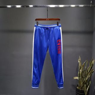 EVISUカジュアルパンツ ブルー おしゃれ