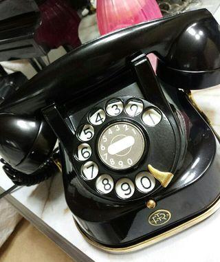 希少**黒電話**