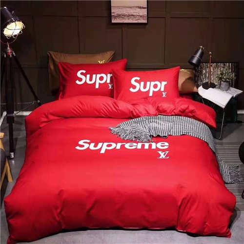 q228高級感 寝具カバー 2枚枕カバー 4点セット