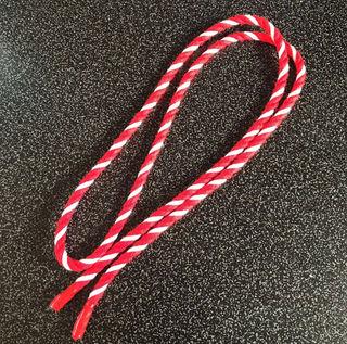 成人式 ねじりハチマキ 紅白ロープ 6mm×1m