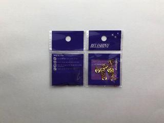 デコパーツ10個セット(ゴールド)
