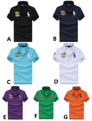 大人気 ラルフローレン メンズTシャツ 7色選択可