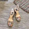 バーバリー新作パンブスレディースサンダル靴