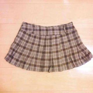 Majorena チェック柄スカート 新品