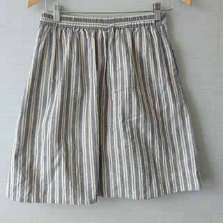 ショコラフィネローブストライプスカート