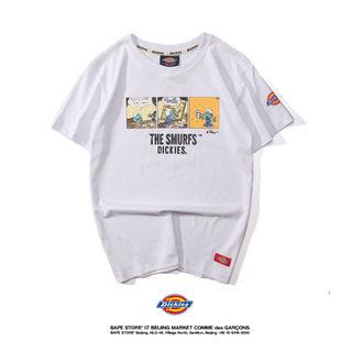 Dickies 男女兼用/人気半袖 Tシャツ-9