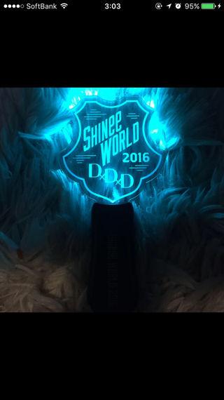 shinee world 2016 ペンライト