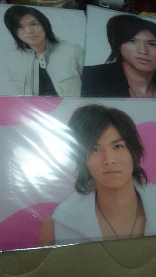 NEWS☆加藤シゲアキクリアファイル3枚セット