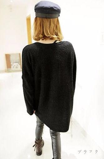 ドルマン袖セーター/トップス全2色★
