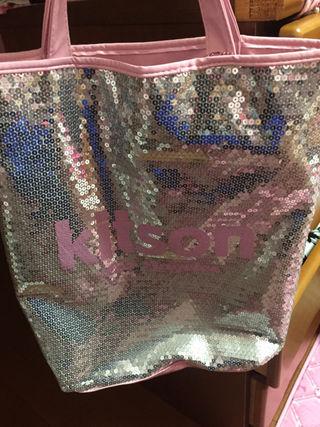 kitson キラキラバッグ ピンク