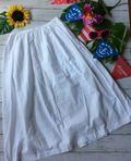 美品!styleconfortガーゼコットンロングスカート