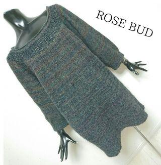 ROSE BUD*ニットワンピース
