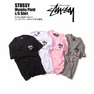 STUSSY  男女兼用/人気半袖Tシャツ-02