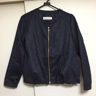 chocol raffine robe スエード ブルゾン