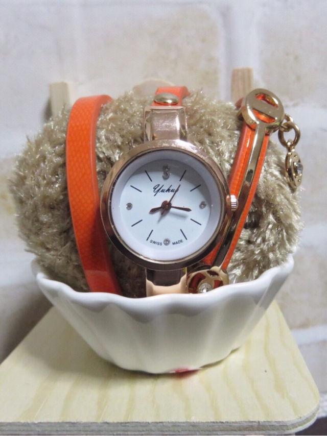 super popular 50d64 9c6f9 エルメスカラー大人気商品ブレスレット時計 - フリマアプリ ...