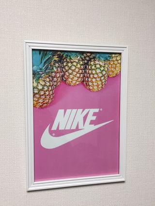 ナイキ  ポップアートポスター A4*額縁付き