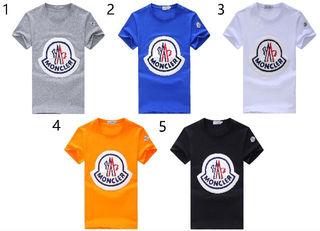 品質新品MONCLER/モンクレールTシャツ男性用5色