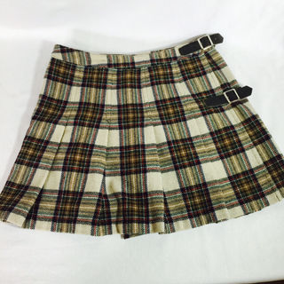 美品 プリーツスカート