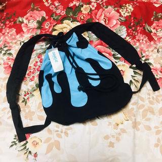 DANCE LB-03プリント巾着リュックバックパック