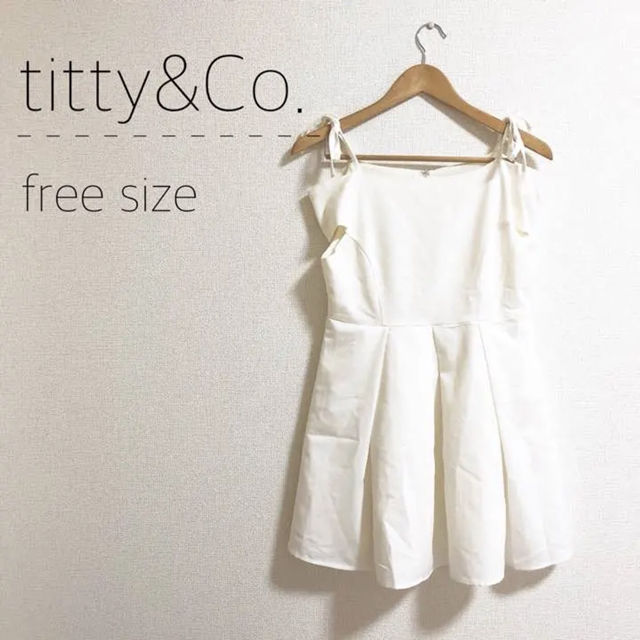 titty&Co. オフショルワンピース