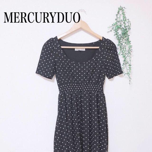 MERCURYDUO ドットワンピース(MERCURYDUO(マーキュリーデュオ) ) - フリマアプリ&サイトShoppies[ショッピーズ]