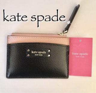 ケイトスペード コインケース 小銭入れ 小物 収納 ブラック