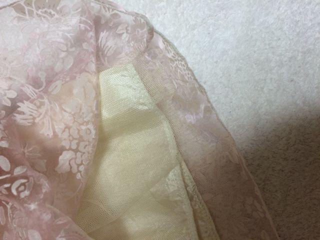 min plume ボリューム花柄スカート
