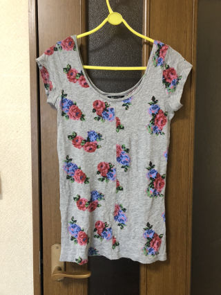 SPIRALGIRL花柄Tシャツ