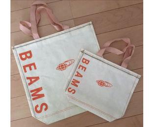 (送料無料)BEAMSショップ袋