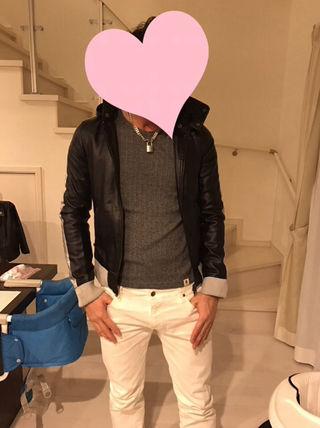 メンズ ミリタリージャケット M?
