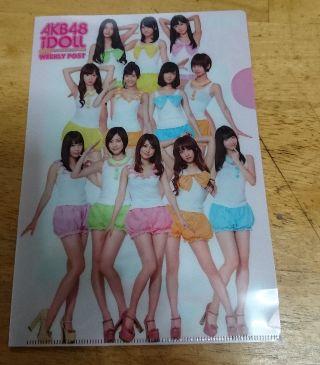 AKB48ミニクリアファイル