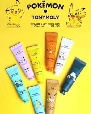 【TONYMOLY】ポケモン ハンドクリーム 【韓国】