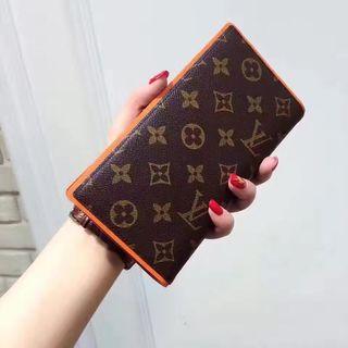ヴィトン 人気美品 可愛い2つ折長財布 4色選択可