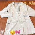 【rienda】ノーカラーテーラードジャケット
