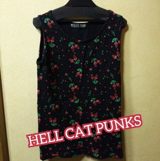 HELL CAT PUNKSUSEDチェリースカルタンク