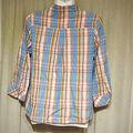 FREDY&GLOSTER七分袖チェックシャツ